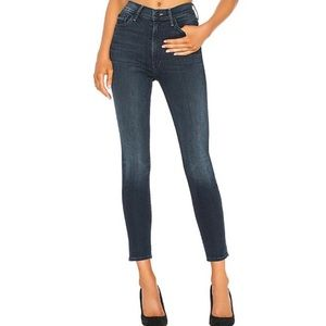 MOTHER The Swooner Ankle Jeans in Squeeze Play